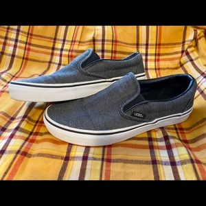Vans Classic Slip on herringbone